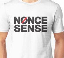 nonce sense (black) Unisex T-Shirt