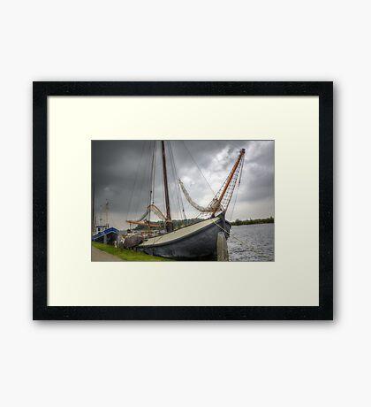 Lets sail! Framed Print