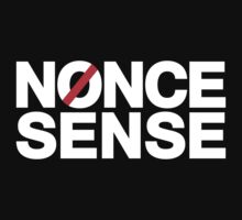 nonse sense (white) by timmehtees