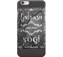 Yoga Quote Unleash Your Inner Yogi iPhone Case/Skin