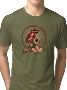 Leaf on the WindII Tri-blend T-Shirt