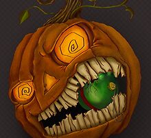 Jack-o-Lantern by Stephanie Jandris