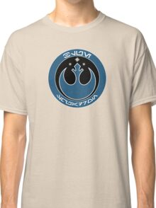 Star Wars Episode VII - Blue Squadron (Resistance) - Insignia Series Classic T-Shirt