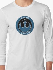 Star Wars Episode VII - Blue Squadron (Resistance) - Insignia Series Long Sleeve T-Shirt