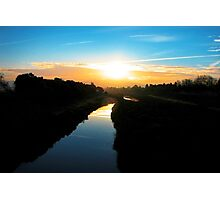 Dawn on the Canal Photographic Print