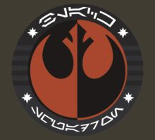 Star Wars Episode VII - Black Squadron (Resistance) - Insignia Series by cobra312004