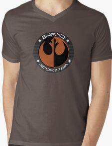 Star Wars Episode VII - Black Squadron (Resistance) - Insignia Series Mens V-Neck T-Shirt