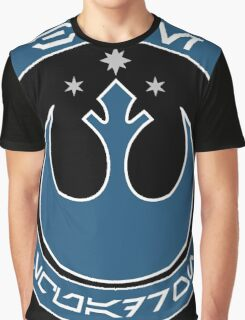 Star Wars Episode VII - Blue Squadron (Resistance) - Insignia Series Graphic T-Shirt