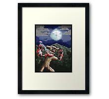 steampunk werewolf Framed Print