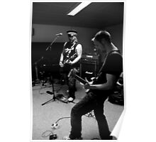 Future Relic - Band Practice - Guitarists  Poster