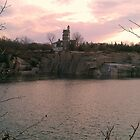 Granite Quarry, Rockport, Massachuaetts by Anne E Colturi