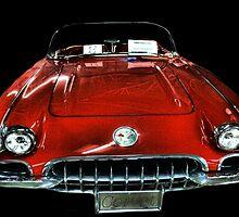 1960 Corvette by Carla Jensen