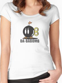 DA-BABOMB Women's Fitted Scoop T-Shirt