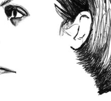 Dave Vanian The Damned Fineliner Sticker