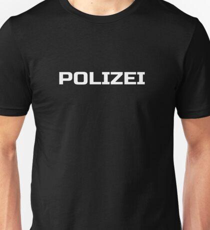 Black German Police - Die Polizei - Fashion T-Shirt Unisex T-Shirt
