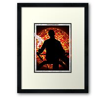 The Illusive Man Renegade Framed Print