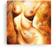 Nude details Canvas Print