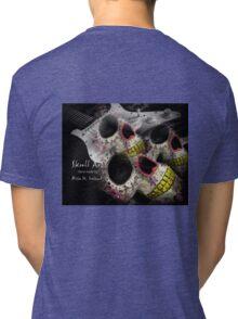 Skull Art Hand Made Tri-blend T-Shirt