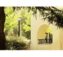 Morning Coffee in Mission San Jose Photographic Print