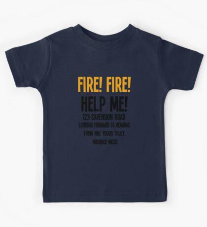 FIRE! FIRE! Kids Tee