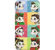 Dean & Castiel - Christmas/Winter Set iPhone Case/Skin