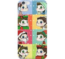 Dean & Castiel - Christmas/Winter Set iPhone Case/Skin