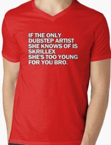 Dubstep Mens V-Neck T-Shirt