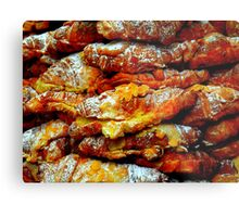 Almond Croissants Metal Print