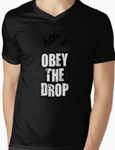 Obey The Drop Mens V-Neck T-Shirt