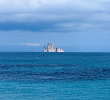 Island in the distance. by Anne Scantlebury