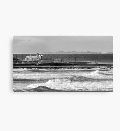 Newcastle Ocean Baths ll Canvas Print