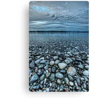The Rocks at Rebecca Spit Canvas Print