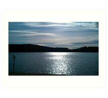 Lake Wyola, Wendell, Massachusetts Art Print