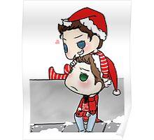 Christmas Cockles Poster
