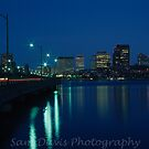 Boston Skyline #1 by Sam Davis