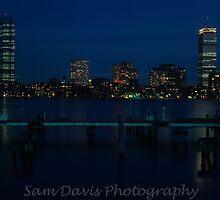 Boston Skyline #2 by Sam Davis