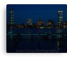Boston Skyline #2 Canvas Print