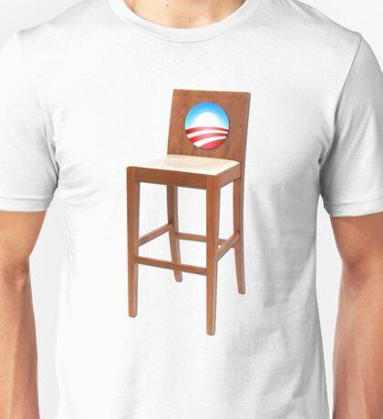 Obama Empty Chair Clint Eastwood Unisex T-Shirt