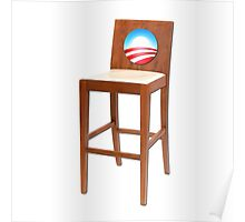 Obama Empty Chair Clint Eastwood Poster