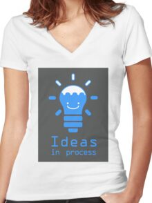 Ideas in process Women's Fitted V-Neck T-Shirt