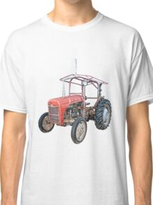 Grey Fergie Tractor  Classic T-Shirt