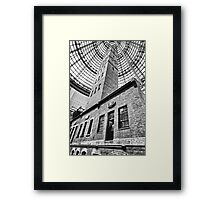 To The Roof Framed Print