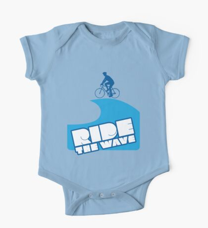Ride The Wave One Piece - Short Sleeve