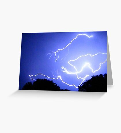 Lightning 2012 Collection 400 Greeting Card