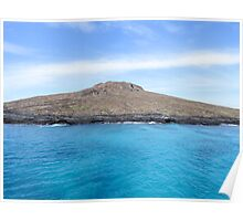 Island of Sombrero Chino. Poster