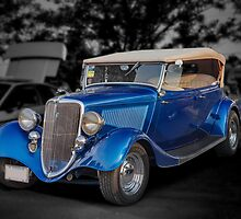 1934 Ford Model B Tourer by PhotosByHealy