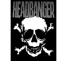 Headbanger Skull Photographic Print