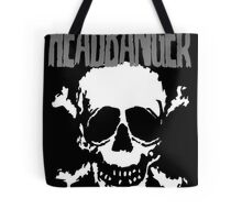 Headbanger Skull Tote Bag