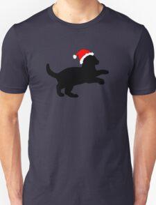 Kitten in a Santa Hat T-Shirt