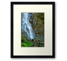 Base of Ellenborough Falls Framed Print